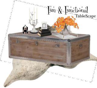 fun functional Tablescape TT
