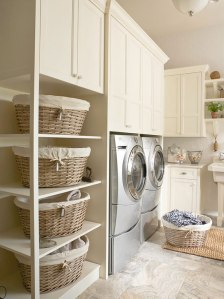 mm laundry orgainzation BHG