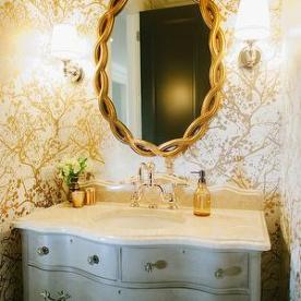 tt gold bathroom bijou and boheme
