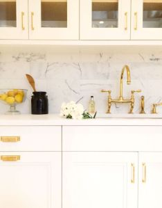 tt Gold kitchen hardware